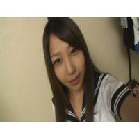 女子●生ゆめちゃんの自画撮りオナニー