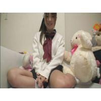 女子●生あゆむちゃんの自画撮りオナニー