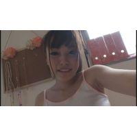 女子●生ゆかちゃんの自画撮りオナニー