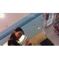 【HD動画】こんなにキレイな顔して下から中身●見えになってる接客13【高画質】
