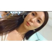 【HD動画】ナプ●ンまで確認出来ちゃうM字サービス接客12【高画質】
