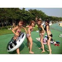 【大特価!!100枚】夏満開のピチピチのギャル水着004