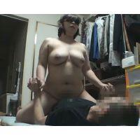個人撮影 人妻えみ 自宅連れ込みネットリSEX 【別アングル固定1カメ】