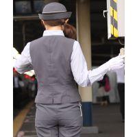 ★リアル鉄道娘★女性車掌・乗務員・駅係員さん画像(7,8,9)セット! 電車