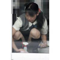 ★お仕事中のお姉さんパンチラ盗撮風(9)★画像 制服 OL