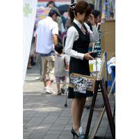 盗撮風【働く女子】画像☆店員 お姉さん OL 制服 スーツ