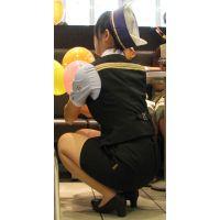 盗撮風【働く女子】(7)画像☆店員 お姉さん OL 制服 スーツ
