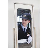★リアル鉄道娘★女性車掌・乗務員・駅係員さん画像(9)電車
