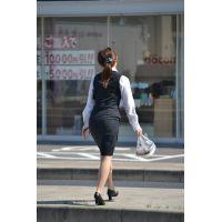 盗撮風【働く女子】(5)画像☆店員 お姉さん OL 制服 スーツ