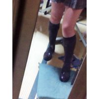 ★女子学生の生足と靴下とローファー物語★(3) 革靴 ソックス