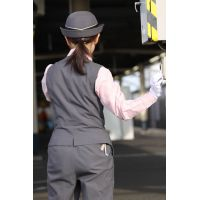 ★リアル鉄道娘★女性車掌・乗務員・駅係員さん画像(4,5,6)セット! 電車