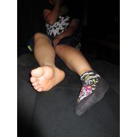 ➃JK2 足の裏、靴下の写真