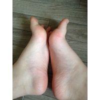 スマホで足の裏!� JC2の足の裏の写メ