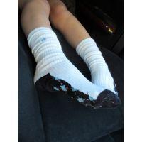 �JC1 足の裏、靴下の写真