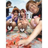 【無防備24時】記念撮影・集合撮影チラチラ セット1〜6