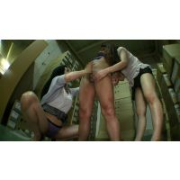 尻コキ,スカート,パンティ,手コキ,Tバック,美尻,美白,フェラ,乳首舐め,複数, Download