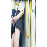 まさかの!女子高生、電車内オナニー撮れちゃいました!!