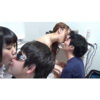 3人娘の優しい唾ベロ手コキ抜き【番外編】