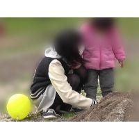 【お花見シリーズ004】 今日は幼い妹のママがわり