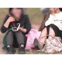 【お祭シリーズ009】 なかよし二人組の学生さん