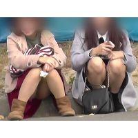 【お祭シリーズ005】 イベントでみかけたダブルパンチラ