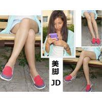 43【超高画質!画像】JD としこ【美脚 生脚 太もも】+おまけ街撮り