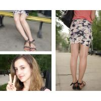 (5)ultra-high quality! white blonde teens pictires of legs, hip,