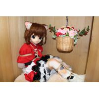 Confined in the closet - Calico cat girl -
