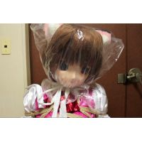 Tied to a chair - Calico cat girl -