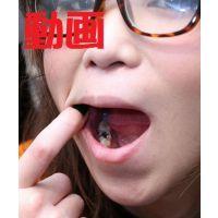 街角でゲットした久美ちゃんの歯 動画