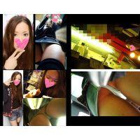 【HD接近逆さ撮り Vol.15-SET】S級キャバクラ嬢のデート中生パンチラ セット(顔有り)