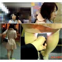【逆さ撮り】逆さの瞬間 Part53(撮られまくった熟女・7連写!)