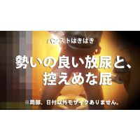 新☆洋式トイレの風景013【放尿】【放屁】