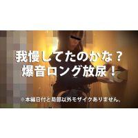 新☆洋式トイレの風景010【ロング我慢放尿】