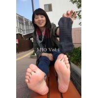 【足の裏 写真集】 みお(22) Vol.1