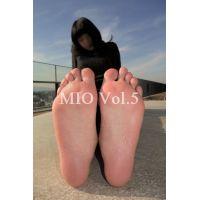 【足の裏 写真集】 みお Vol.5
