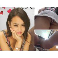 某人気アイドルの姉 18歳美少女のデート中パンチラ【逆さ撮り】