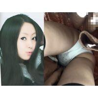 黒髪清楚美女のパンツとスカートめくり みなみちゃんPart2【逆さ撮り�】