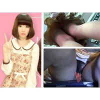 [Upskirts 56]In a shirtless bunny skirt of a no-pan Misaki-chan