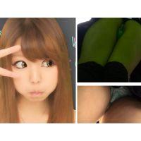 ○○○○アイドルのプライベートパンチラ MさんPart1 【逆さ撮り�】