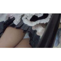 J●ショップパンチラ&試着室 ヒラヒラスカート