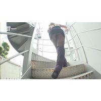 階段パンチラ映像part114 1分