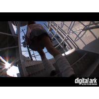 階段パンチラ映像part47 2分