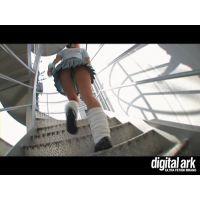 階段パンチラ映像part20 2分