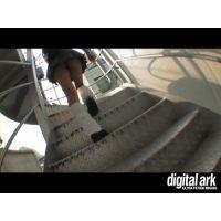 階段パンチラ映像part3 1分