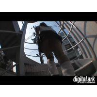 階段パンチラ映像part13 2分