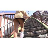 階段パンチラ映像part81 3分