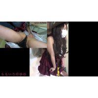 【痴漢】みなみ18歳【おしおき実行犯】痴漢しますた( ゚Д゚)モミモミ---2カメバージョン