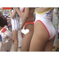 【フルHD】レースクイーンの超ハイレグパンスト美脚 06