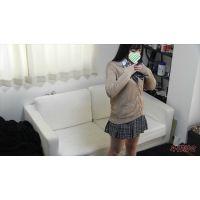 着替え隠撮 アイドルフェイスの18歳【蔵出し】別アングル 制服〜スク水